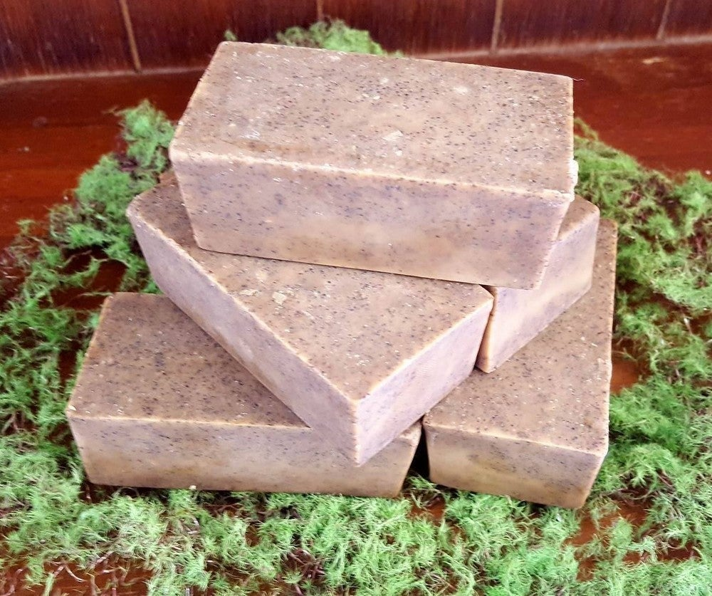 Image of Coffee Lavender & Peppermint Goats Milk Soap