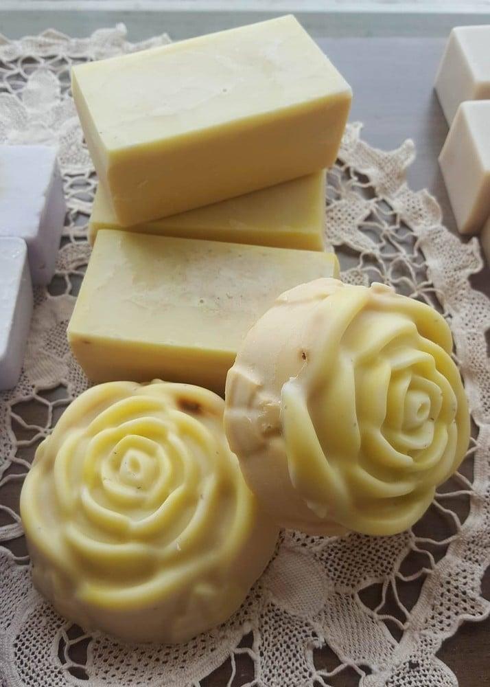 Image of Lemon Myrtle Goats Milk Soap