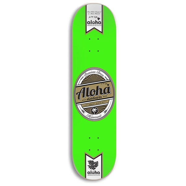 Image of Aloha Skateboards Premium Brew Deck