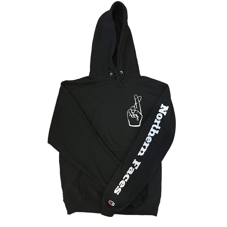 Image of Fingers Crossed Hoodie (Champion)