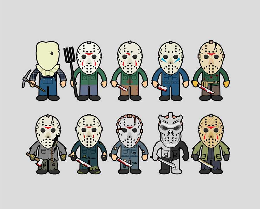Image of JASONS | 8x10 Art Print