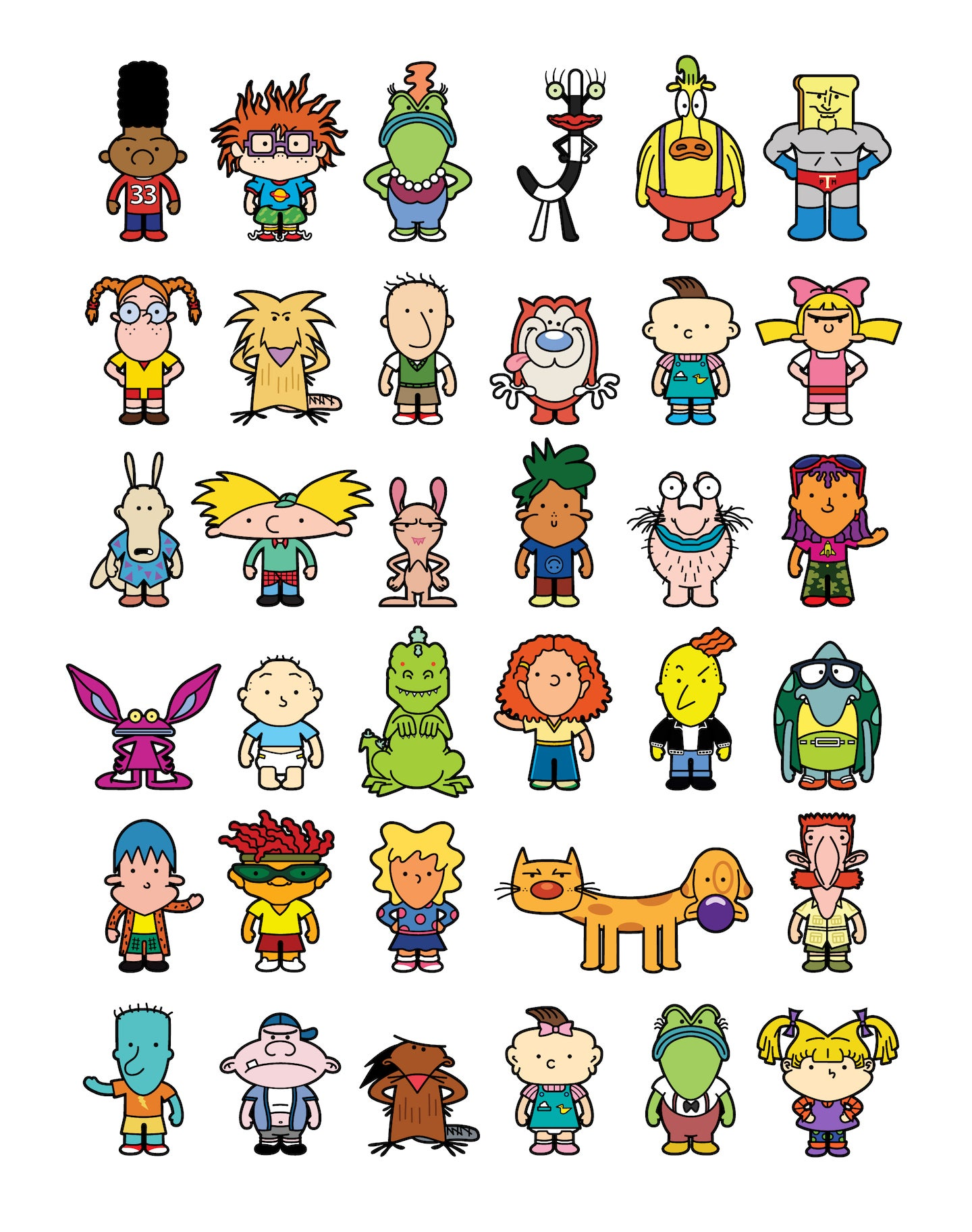 Image of Nicktoons Art Print