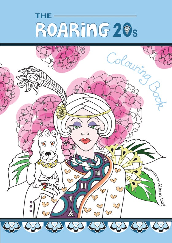 Image of The Roaring 20s - Colouring Book