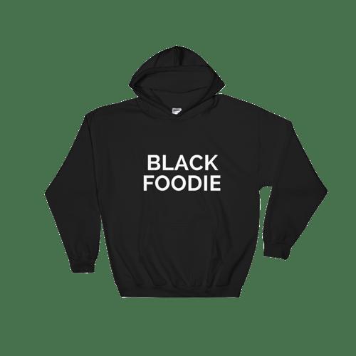 Image of BLACK FOODIE Hoodie