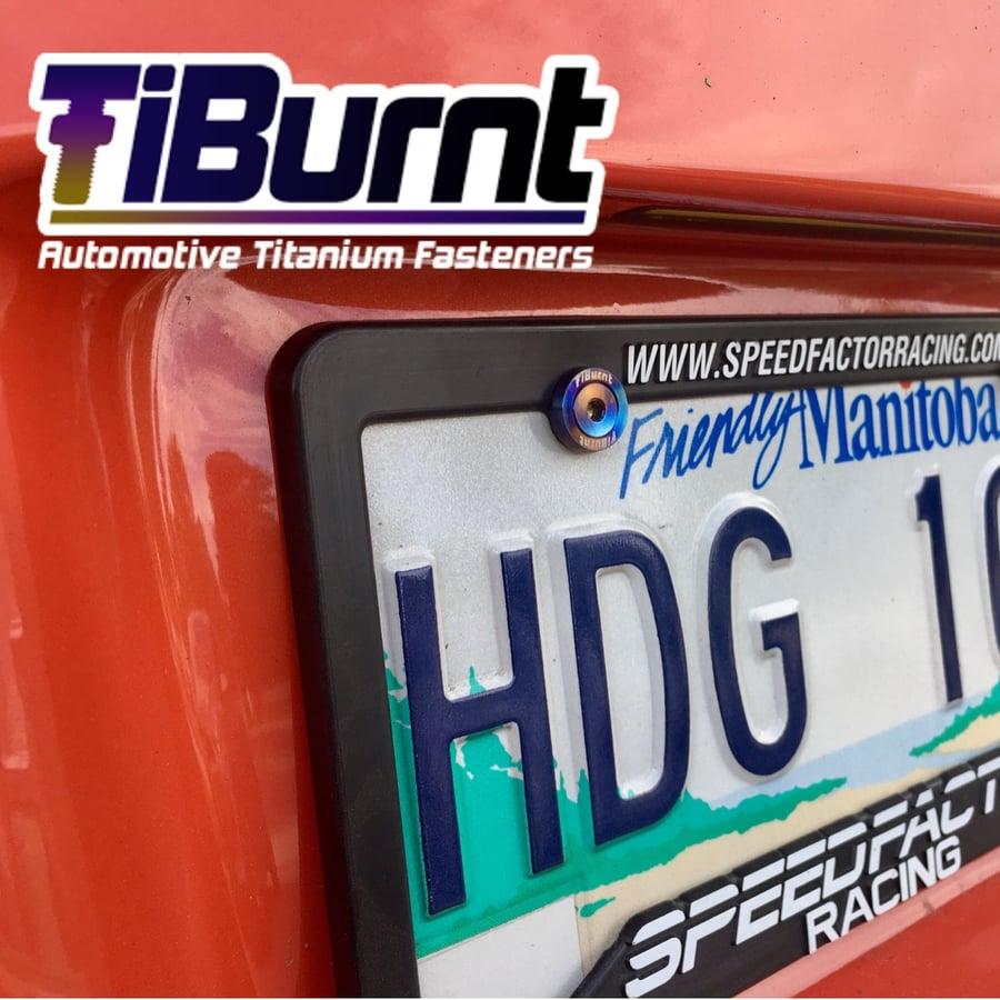 Image of TiBurnt Elite License Plate Screw Kit