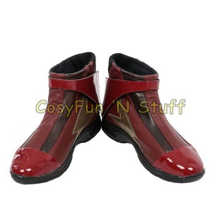 Image of The Flash Justice League Costume Barry Allen Cosplay Costume Custom Made Deluxe