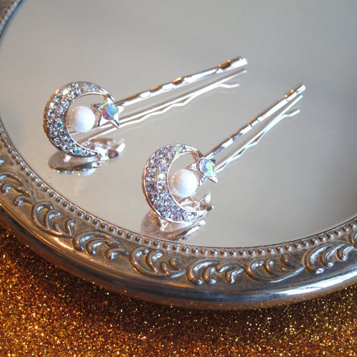 Image of Moon Goddess hair pins