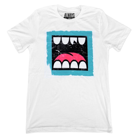 Image of LOUDMOUTH WORN WHEATPASTE TEE
