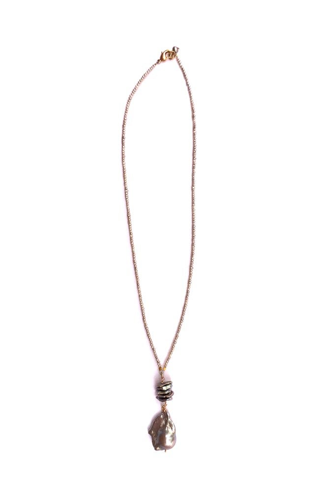 Image of Pearl Drop Necklace