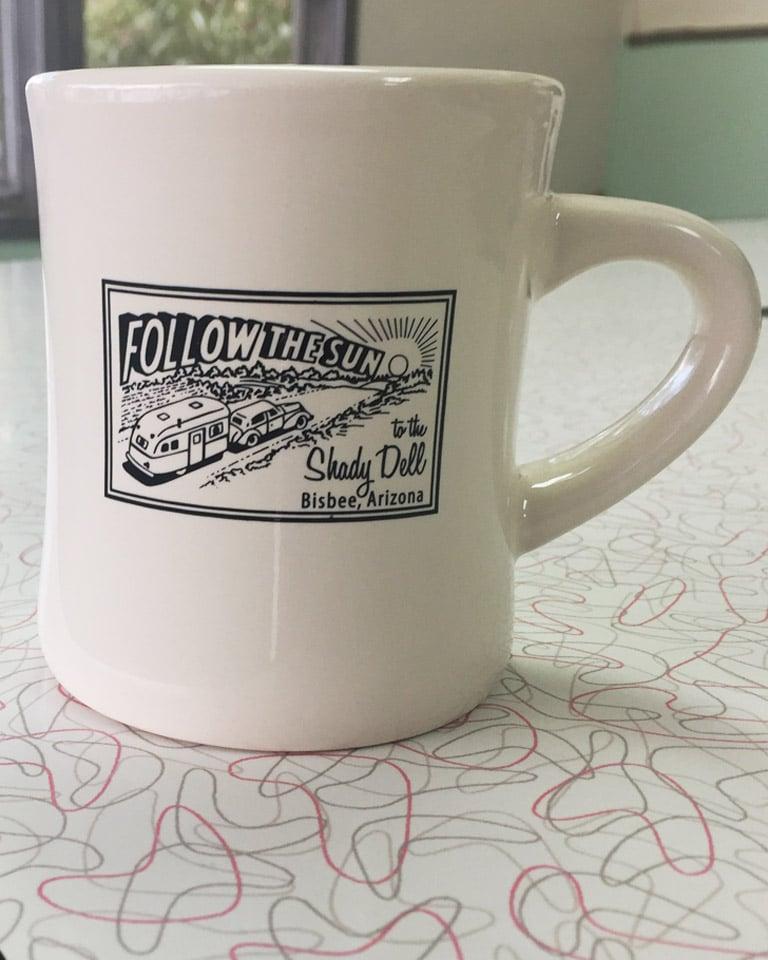 Image of Porcelain Diner Mug