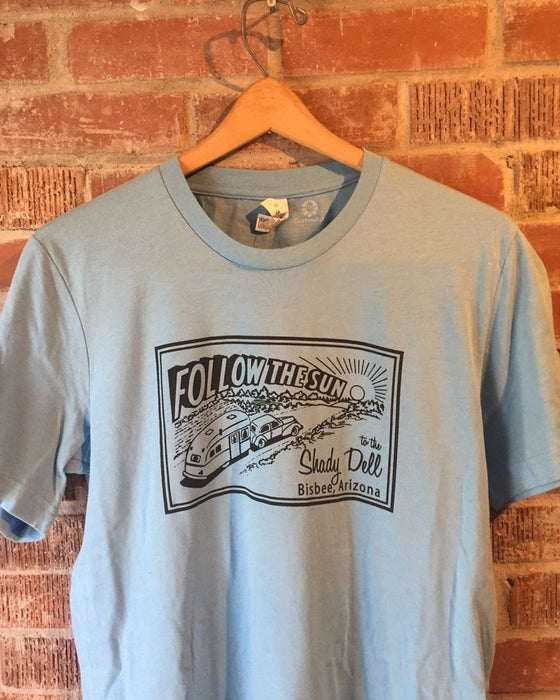Image of Basic Tee in Stone Blue