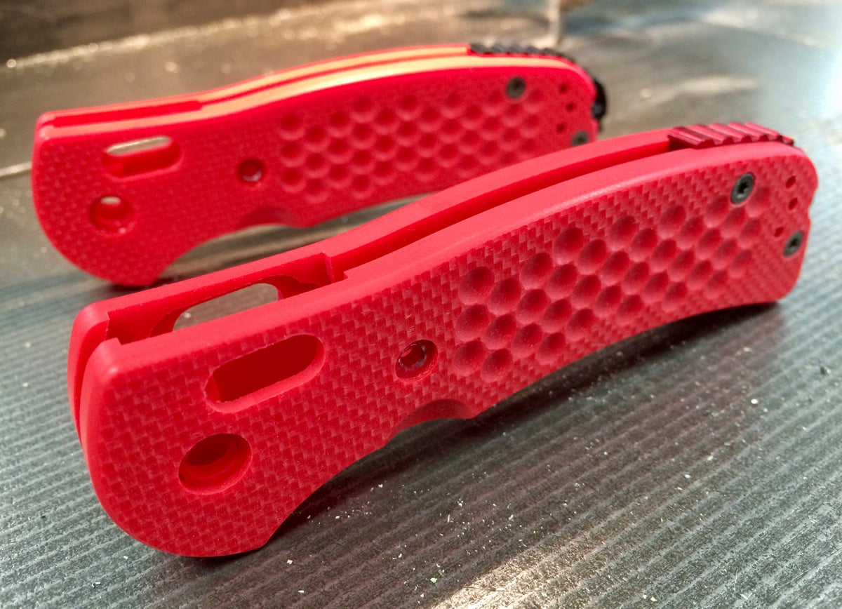 BMG X2 Fire Red Textured G10