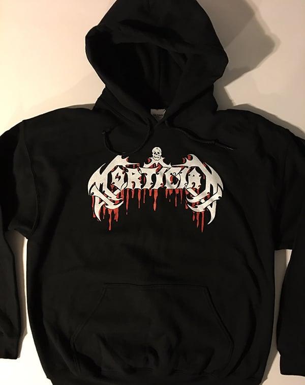 """Image of Mortician """" Logo """" Hooded Sweatshirt"""