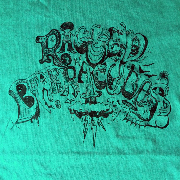 Image of RAGGED BARRACUDAS - Shirt (jade green)