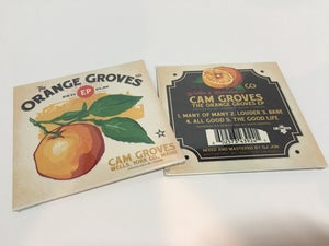 "Image of ""The Orange Groves EP"" CD"
