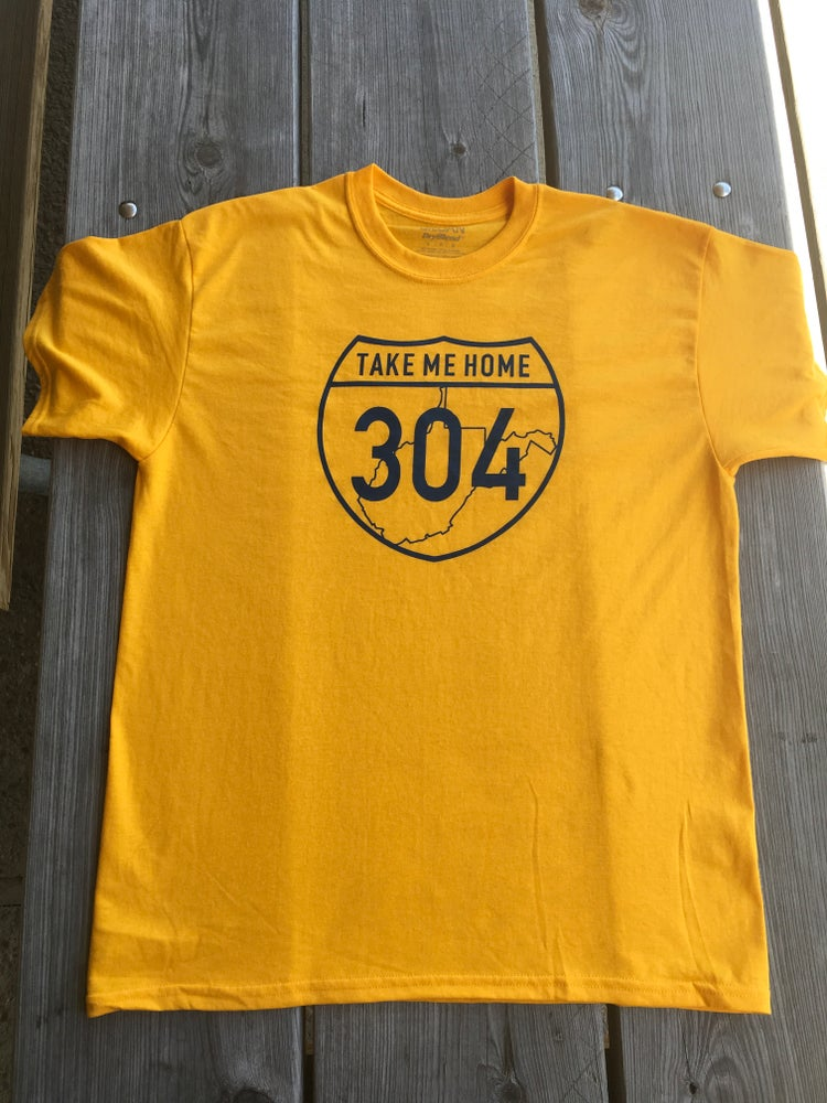 Image of Take Me Home 304 - Gold T-Shirt