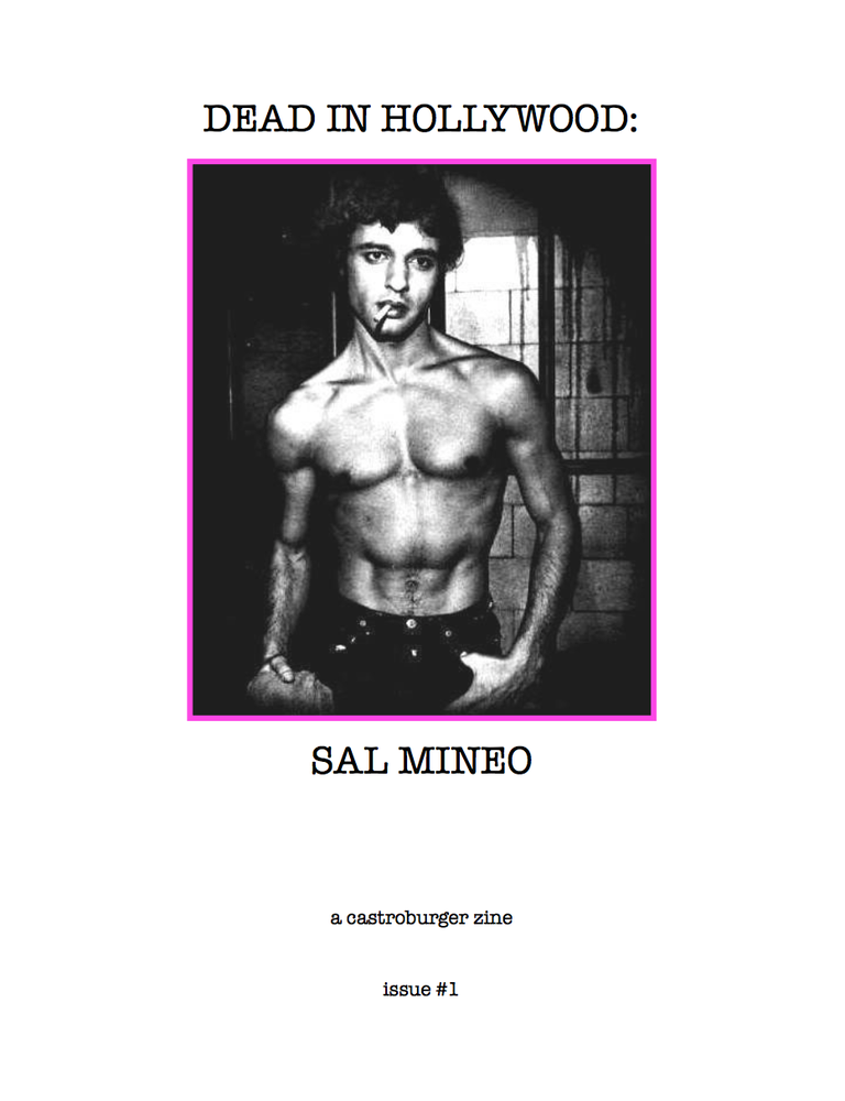 Image of Dead in Hollywood: Sal Mineo (issue #1)