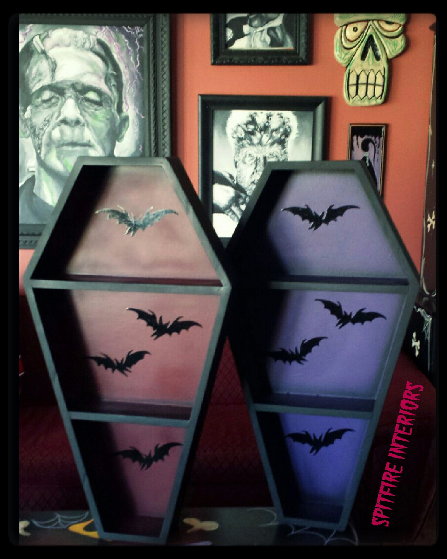 Image of Bat Coffin