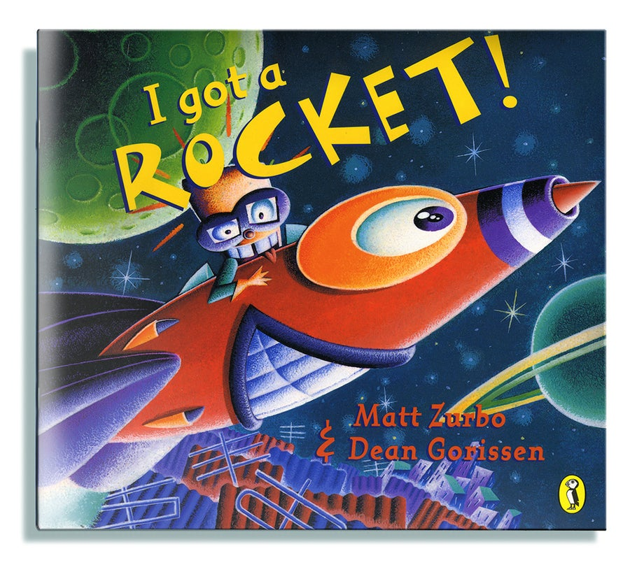 Image of I got a Rocket!
