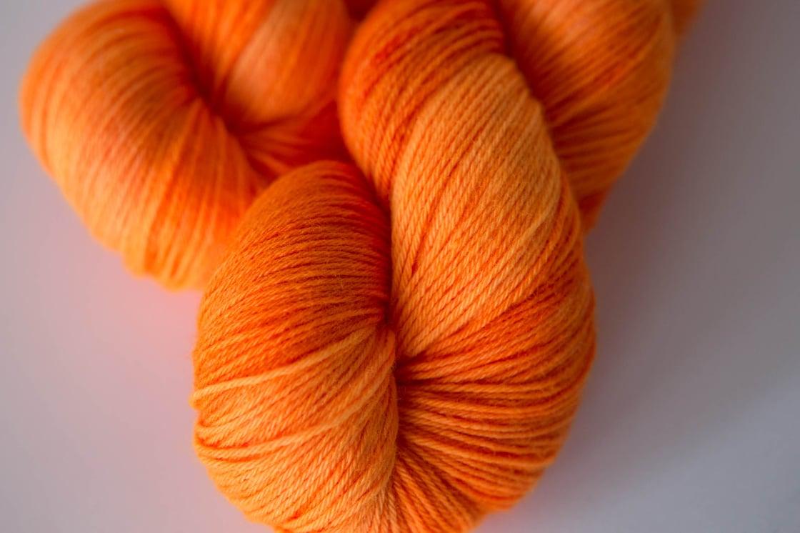"""Image of Cuddly Sock """"Atomic Mango"""""""