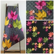 Image of Fall Breeze Ombre Quilt PDF pattern