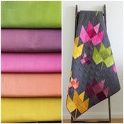 Image of Fall Breeze Ombre fabric Bundle with PDF Quilt Pattern