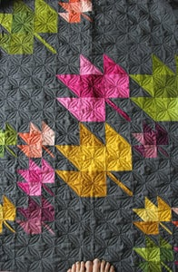V And Co Fall Breeze Ombre Fabric Bundle With Pdf Quilt