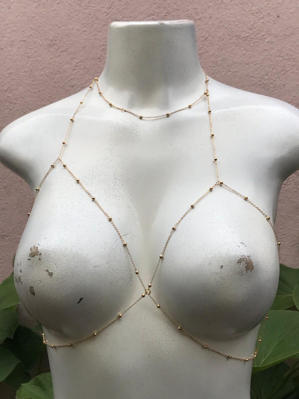 Image of CHOKER BRALETTE / BODY CHAIN