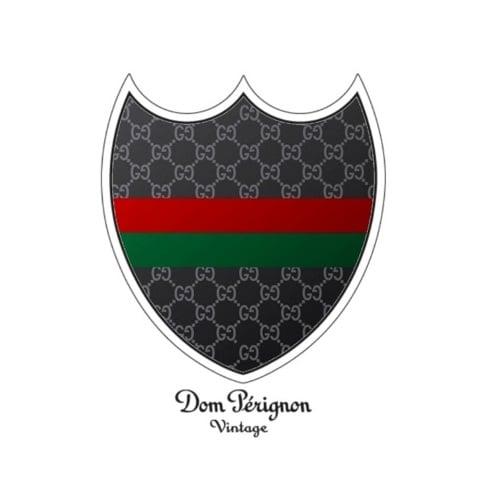 Image of Dom Perignon T-shirt - Gucci