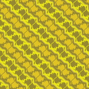 Image of Alaska Pattern Leggings - Dijon