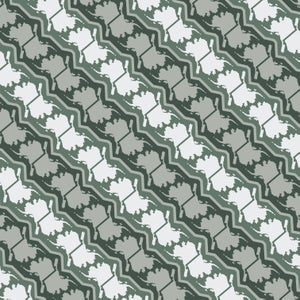 Image of Alaska Pattern Yoga Pants - Lichen
