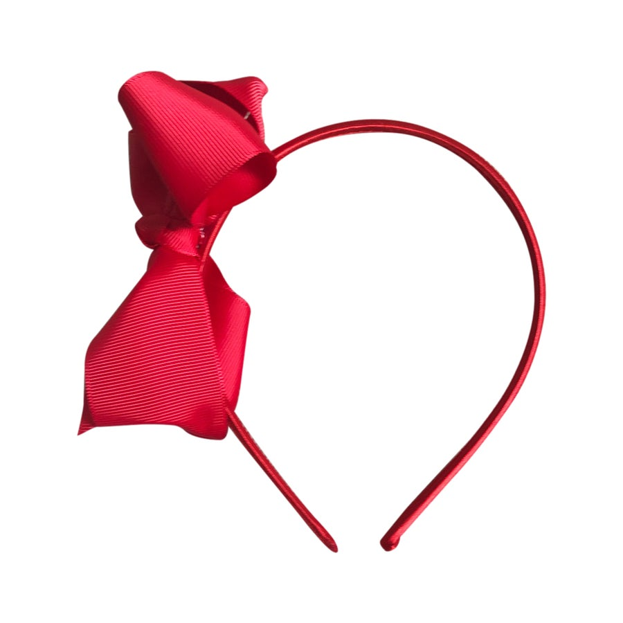 Image of Valentine Bow Headband