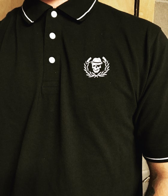 Image of Embroidered Polo T-shirt