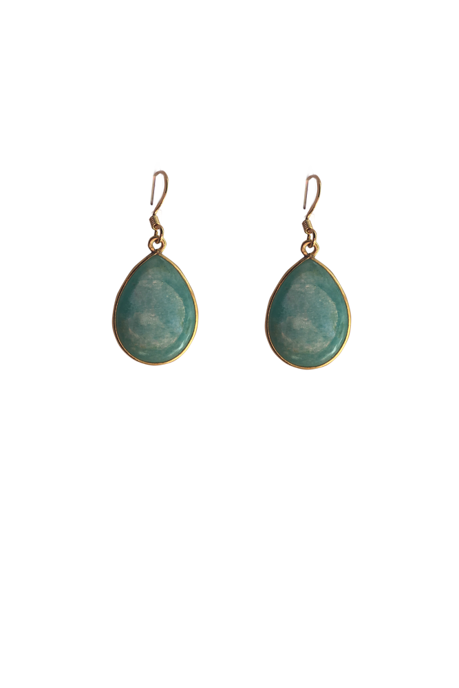 Image of Amazonite Drop Earring