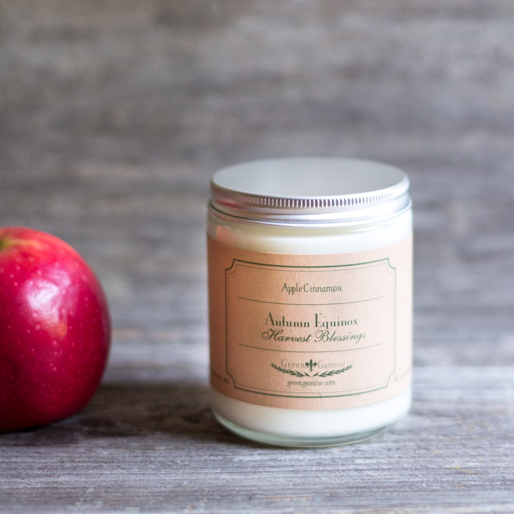 Image of Autumn Equinox Apple Cinnamon Soy Candle