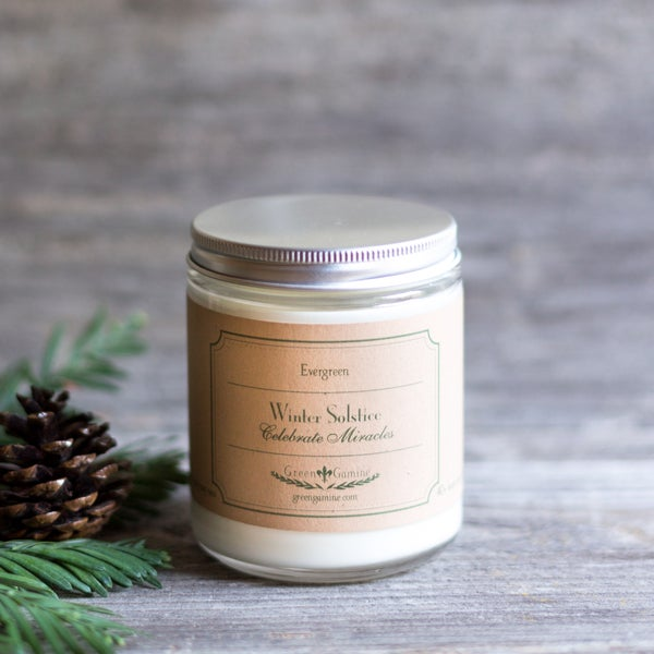 Image of Evergreen Winter Solstice Soy Candle