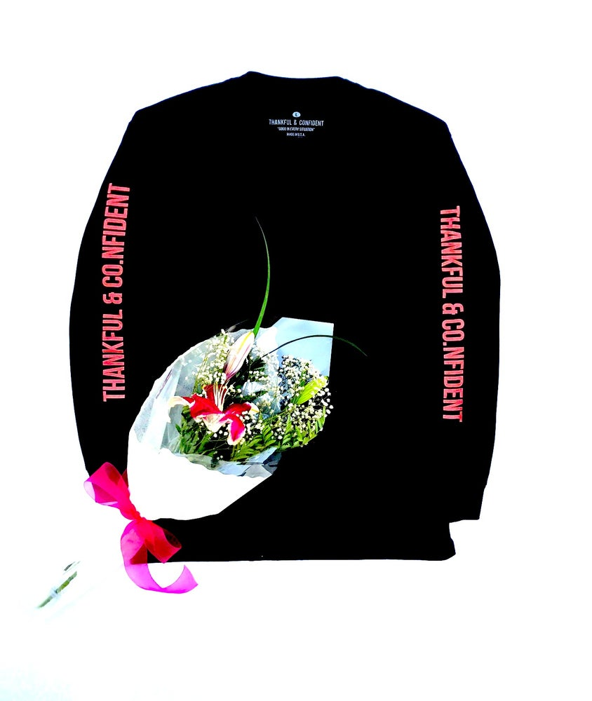 Image of THANKFUL & CONFIDENT LONGSLEEVE