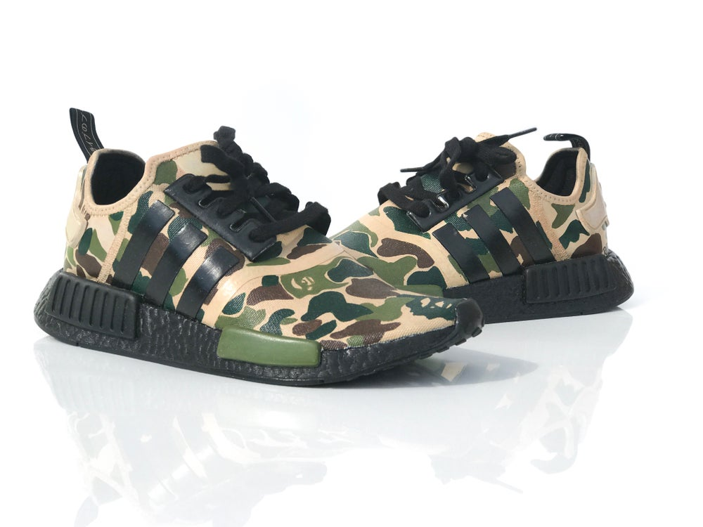 the best attitude 4ee9b 7dce6 Image of CUSTOM ADIDAS (Reverse NMD R1 BAPE)