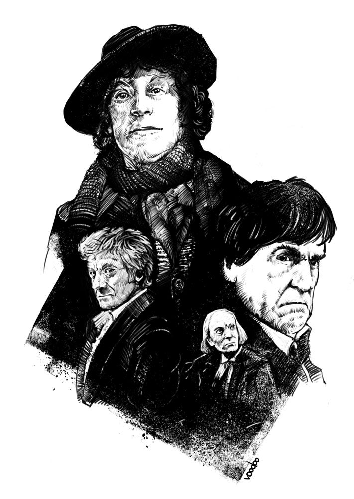 Image of The 4 Doctors - Early Years
