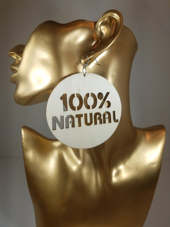 Image of 100% Natural Earrings