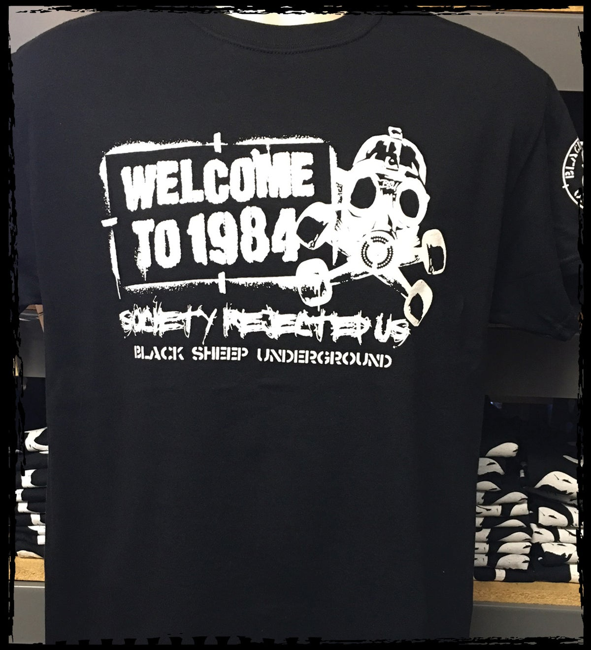 Image of Welcome to 1984 Ts Black