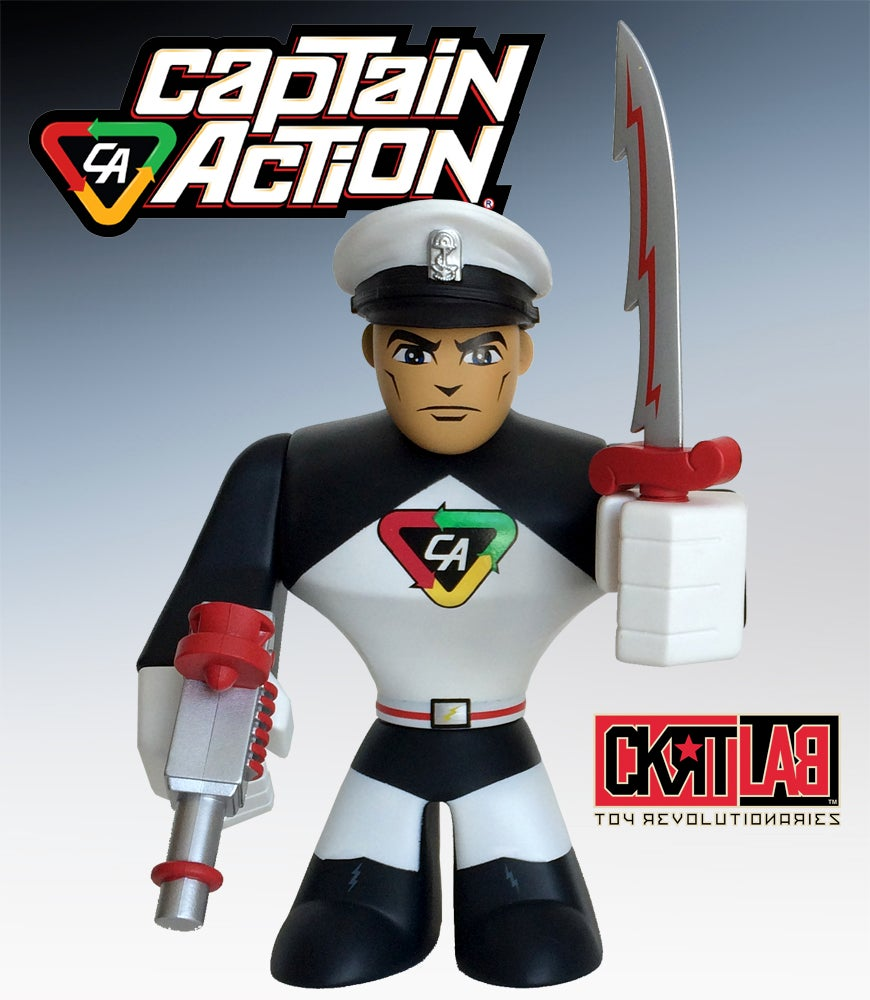 Image of CAPTAIN ACTION: ARCTIC ADVENTURER