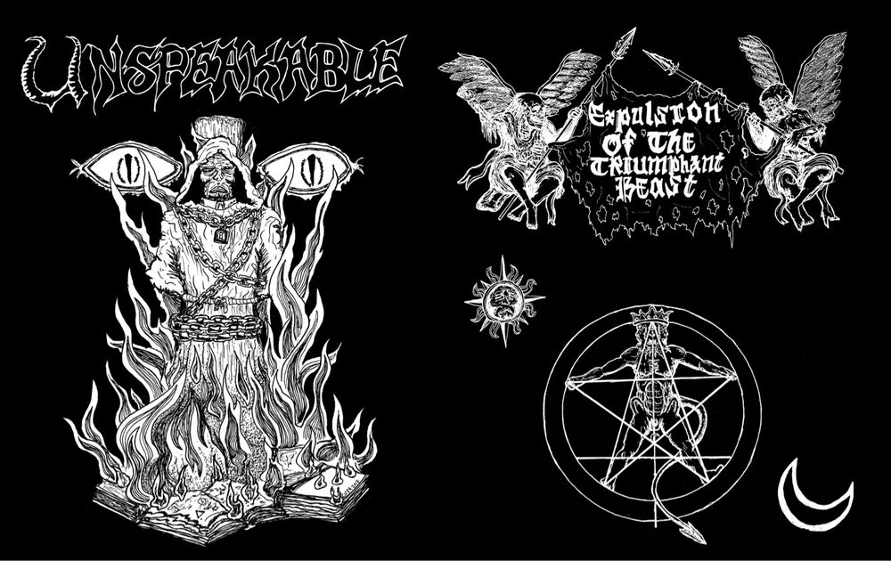 Image of UNSPEAKABLE - Expulsion of the Triumphant Beast shirt