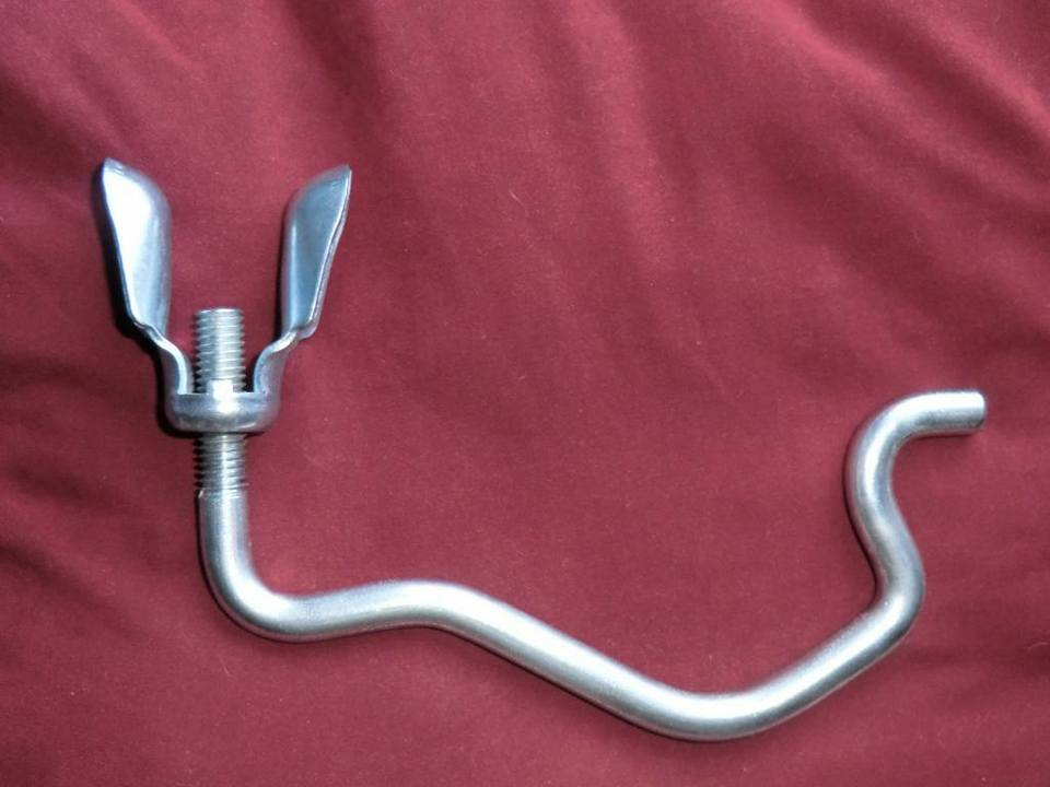 Image of 1967 Inside The Spare Wheel Jack Hook