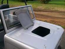 Image of Bronco Golf Cart Body Kit