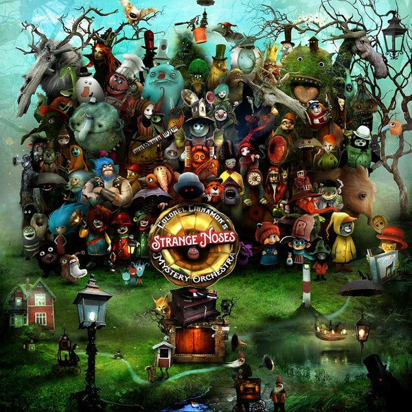 """Colonel Cinnamons Strange Noses Mystery Orchestra"" - Alexander Jansson Shop"