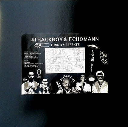 Image of 4Trackboy & Echomann - Timing & Effekte - LP (Goddess)