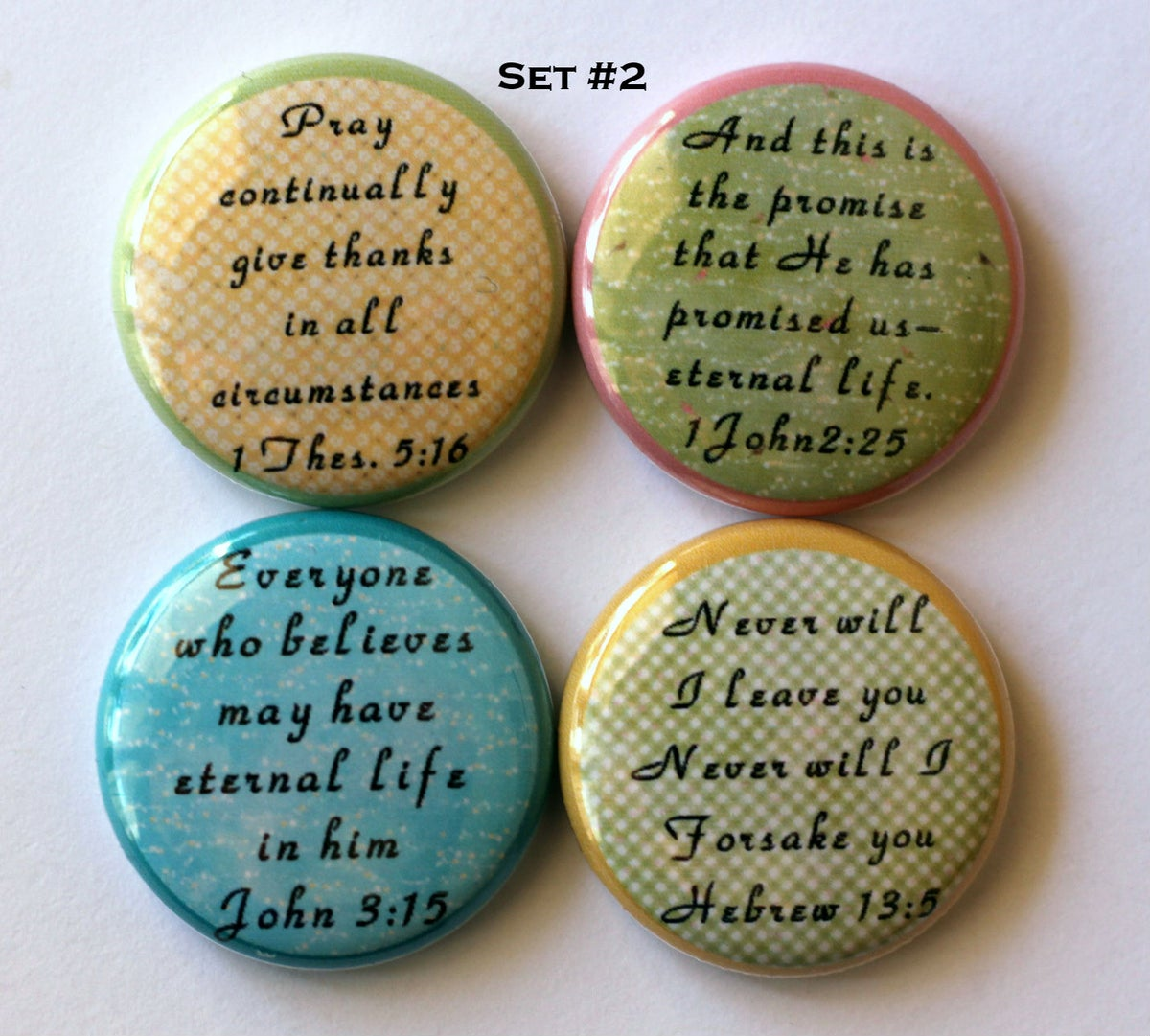 Image of Scripture Flair Buttons