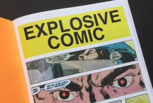 Image of EXPLOSIVE COMIC by Mark Laliberte