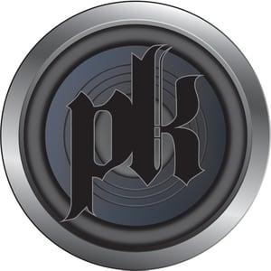 Image of Circle speaker PK black men's T-shirt